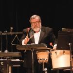 Percussionist Michael Parola