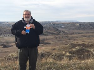 Stanley and Uncle Michael in North Dakota enjoying the Badlands!!!!!