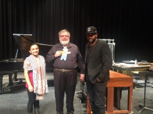 Stanley makes it to Phoenix Arizona and is onstage with Uncle Michael, Francisca and pianist Mikael Darmanie